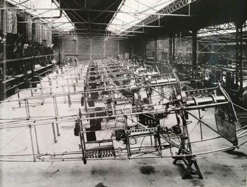 BR14 atelier des fuselages
